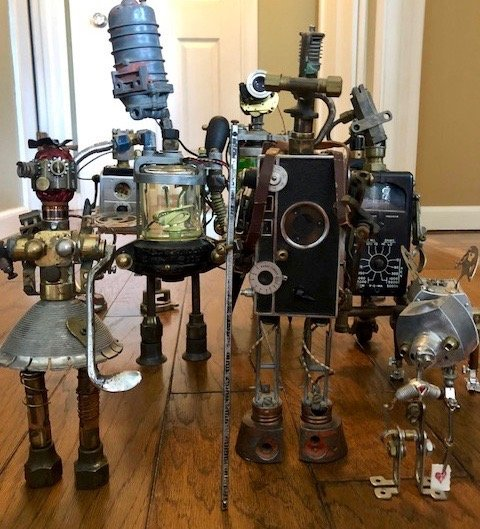 photo of DIY robots
