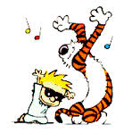 dancing calvin and hobbes