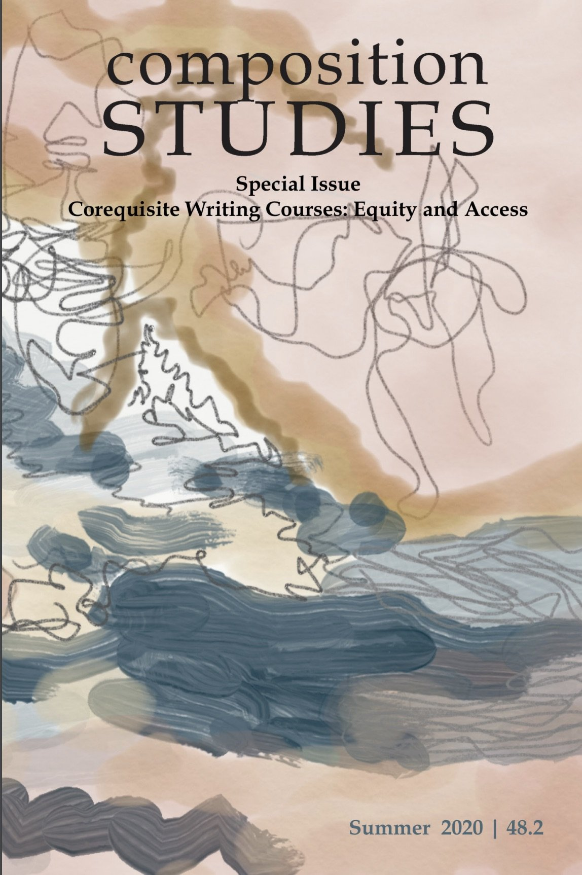 cover art for Comp Studies journal
